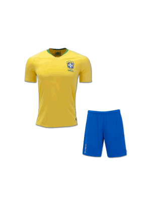 Kids-Brazil-Football-Jersey-and-Shorts-Away-2018-FIFA-World-CUP
