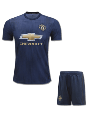 Manchester-United-Football-Jersey-And-Shorts-3rd-kit-18-19-Season