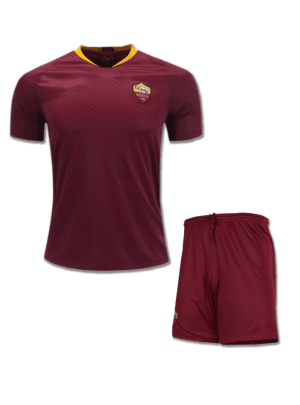 AS-Roma-Football-Jersey-And-Shorts-Home-18-19-Season