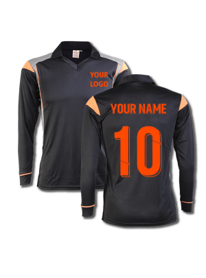 Black-Color-Cricket-Long-Sleeve-Jersey-Design-Front-Back