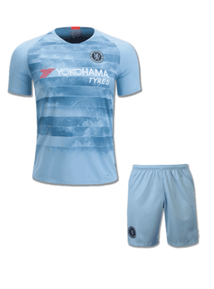 Chelsea-Football-Jersey-And-Shorts-3rd-Kit-18-19-Season