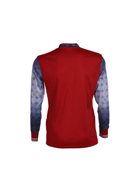 Red-Color-Long-Sleeve-Sports-Jersey-Design-Back