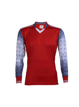 Red-Color-Long-Sleeve-Sports-Jersey-Design-Front