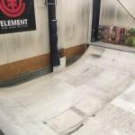 FUGスケートパークのミニランプ
