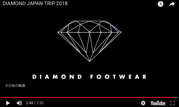 Diamond Footwear Japan Tour