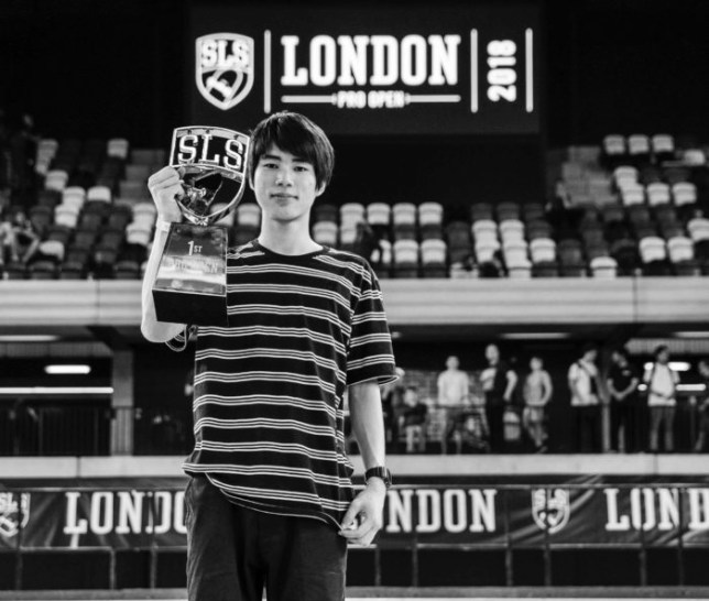 Street League London Yuto Horigome