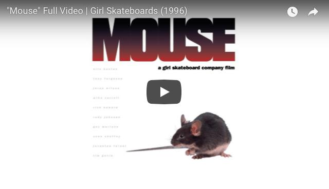 crailtap-Girl Skateboards Mouse