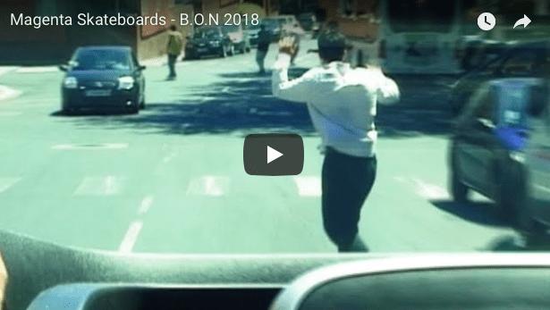 MAgenta Skateboards B.O.N 2018
