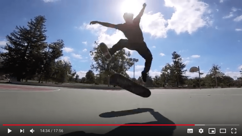 Mike Mo Capaldi & Neen Williams Heel Flip Challenge