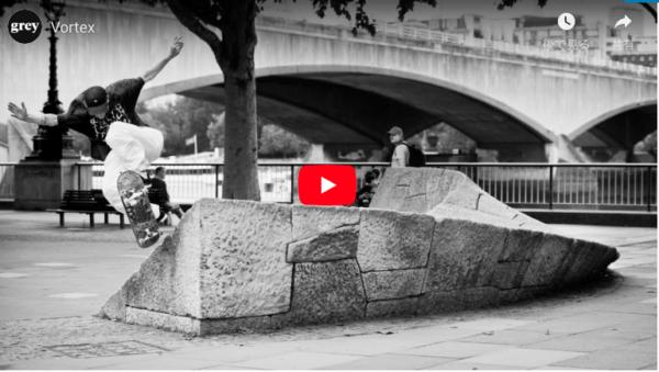Grey Skateboard Magazine Vortex