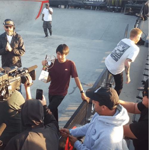 Yuto Horigome Leaves Blind Skateboards