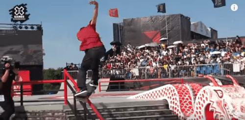 X Games Shanghai 2019 men's Skateboard Street