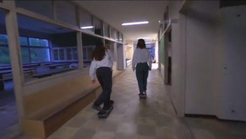 Girls skater in sendai japan