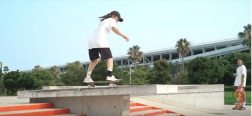 Skate Girl in Maihama Skate Park