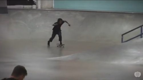 How Fast can 360 shut Chris Pierre In the Berrics
