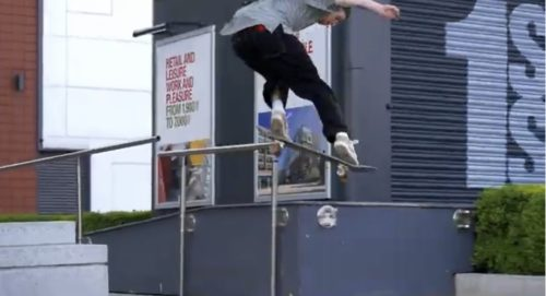 HUF UK LESION Vague Skate Mag
