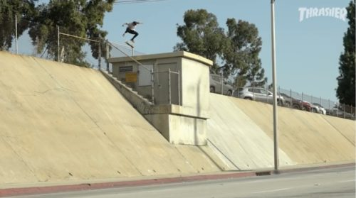David Gonzalez Sprit is Black Part THRASHER Magazine