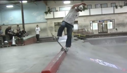 Red Bull Curb Kings Contest at The Berrics.