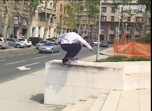 Rough Cut Tiago Lemos Dime Knowing Mixtape Vol.2 Thrasher