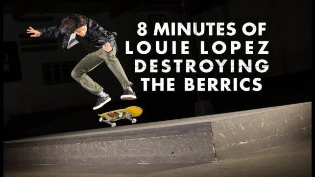 Source:YouTube The Berrics Louie Lopez