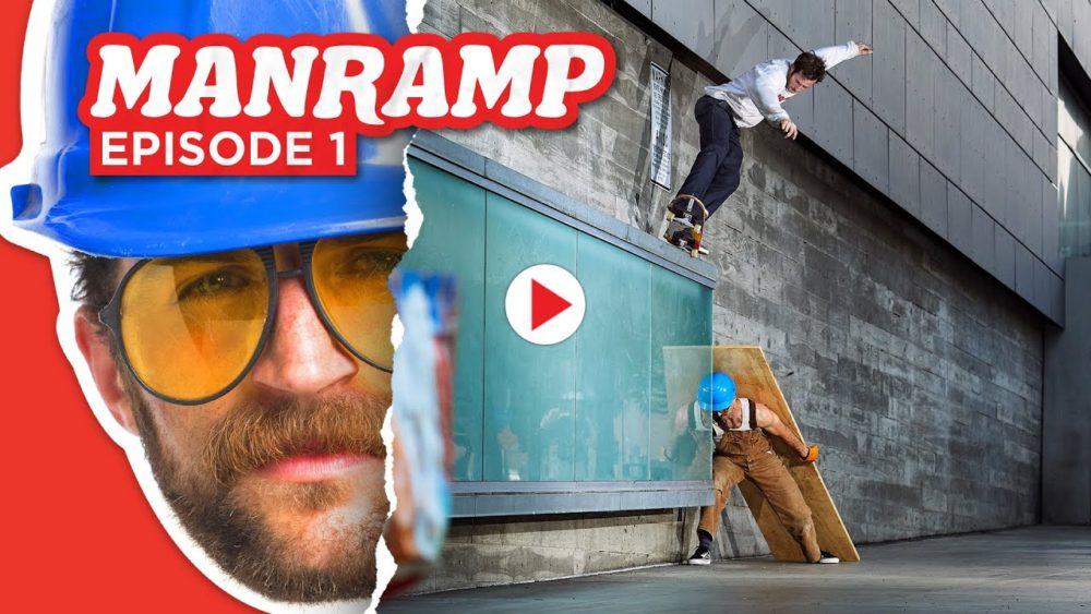 Source YouTube Thrasher Magazine Manramp Episode 1