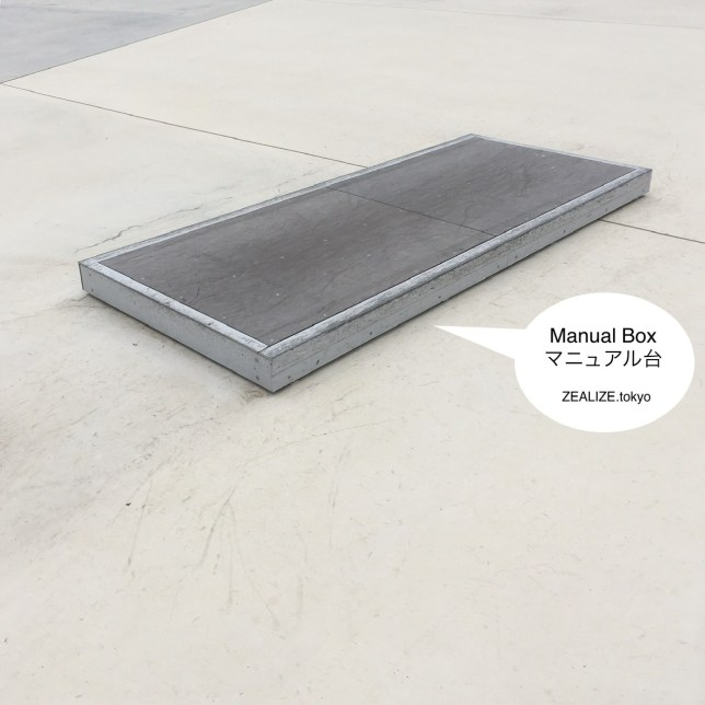 Kazo Skate Park Manual Box