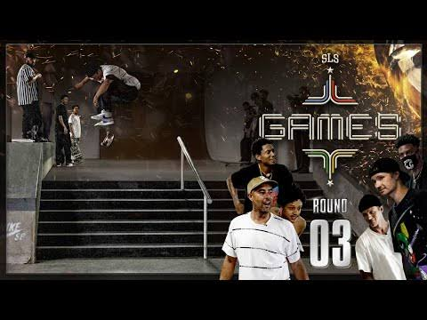 Source Street League Skateboarding Games Round 3,SLS