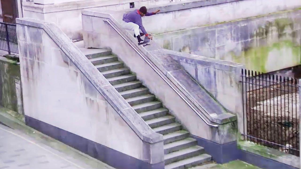 Source YouTube Thrasher Magazine 16 stair boneless