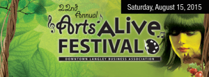 ZealousArt at the 22nd annual Arts Alive Festival in Langley