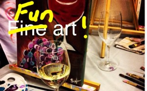 June 17 – Canvas and cocktails pARTy