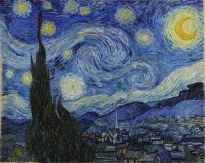 Van Gogh on Facing a Blank Canvas