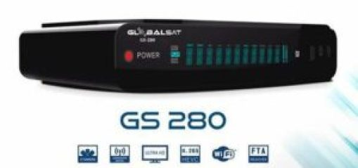GLOBALSAT GS 280 NOVA ATUALIZAÇÃO V1.60