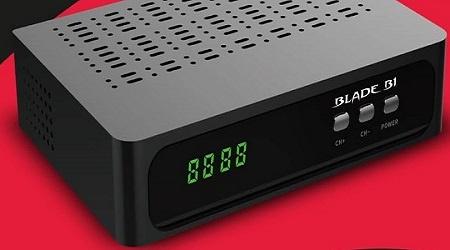 BLADE B1 NOVA ATUALIZAÇÃO V268 - Zeamerica Tudo para Receptores HD e TV  Digital