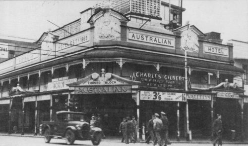 Australian Hotel, Sydney, Australia 1942