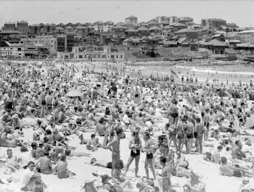 Bondi Beach, Sydney, Aust 1942