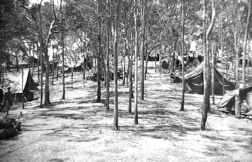 22nd BG tents at Woodstock