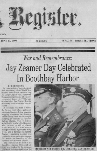 Article on Jay Zeamer Day
