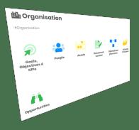 Control multi-site organisations
