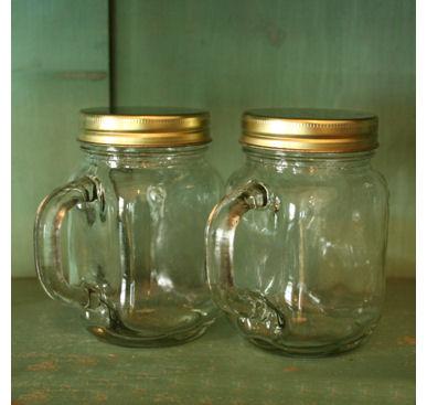 mason jars with handle