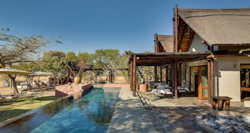 5 star Waterberg Lodge at Zebula