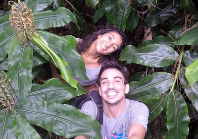 Romain et Nina, auteurs du blog zecaillou.com