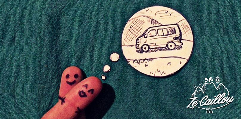 Préparation d'un long voyage en europe en combi van avec Romain et Nina