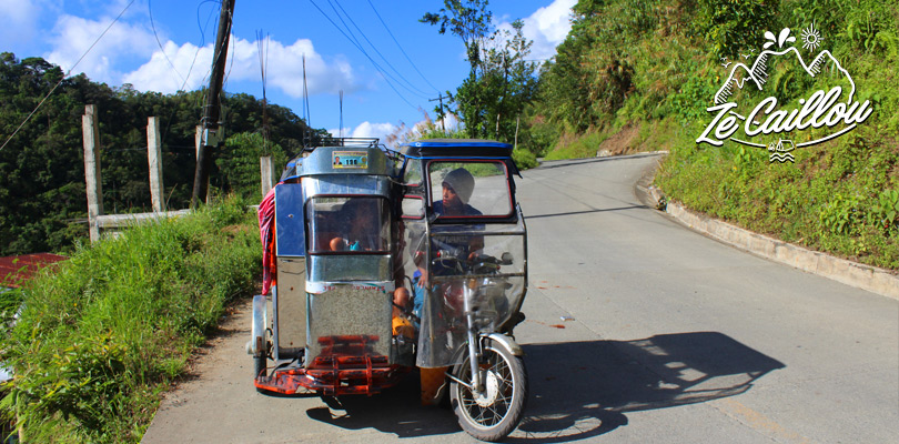 Voyager en transport local pour un petit budget, ici tricycle aux Philippines