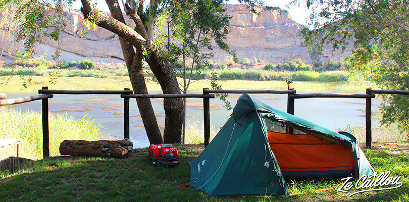 Products sheets on different travel equipment, for camping and else on our travel blog