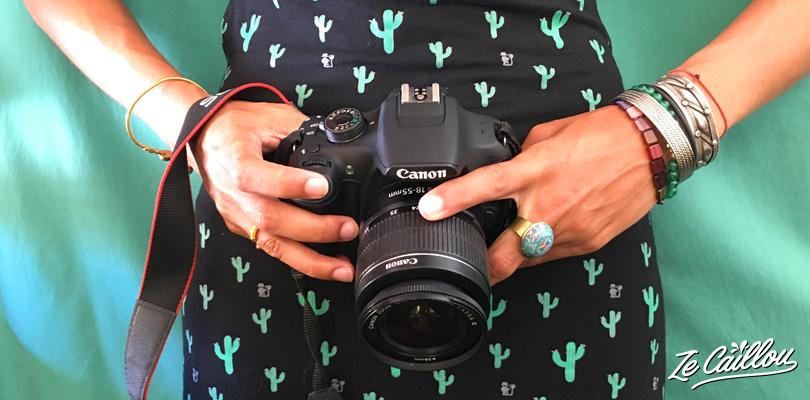 Fiches produits pour matériel de photo et vidéo sur le blog de voyage Ze Caillou