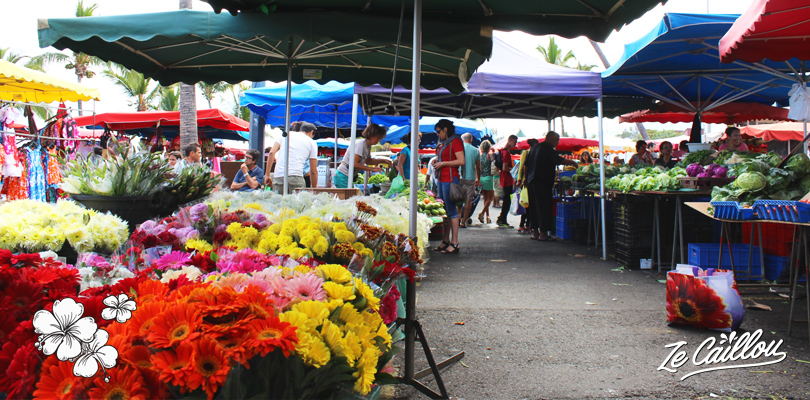 Trouver fruits, légumes, fleurs et artisanat local aux marchés forains traditionnels de l'île de la Réunion