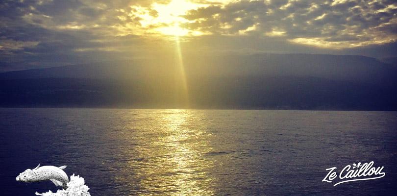 Départ pour la pêche au gros à la Réunion lever du jour direction le DCP de saint-gilles