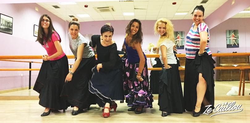Prendre un cours de danse de Flamenco en Espagne par Ze Caillou