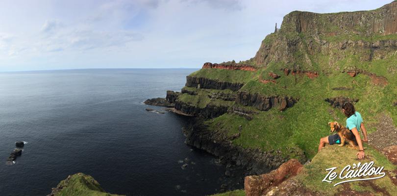 De somptueux paysages irlandais à découvrir lors de la marche de la chaussée des géants
