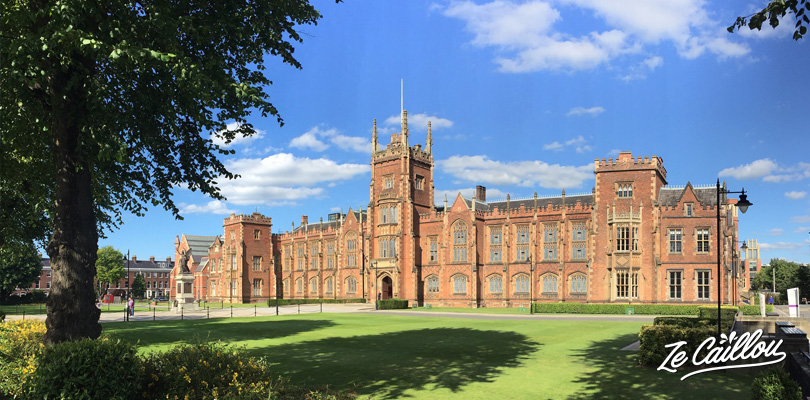 Visit the huge Queen's University very close to the botanical garden